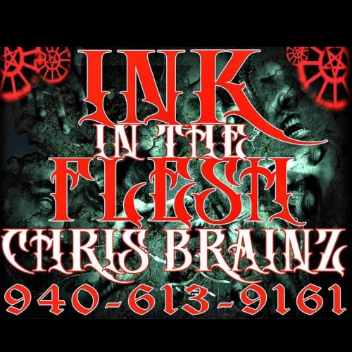 Ink in the flesh