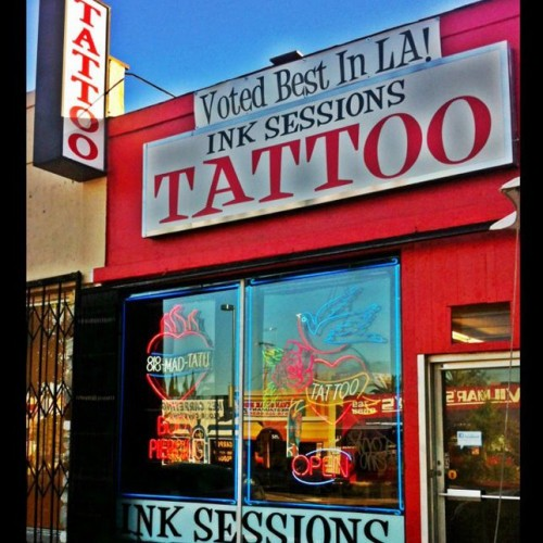 Ink Sessions Tattoo and Body Piercing